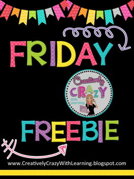 Back to School All About My Family Freebie