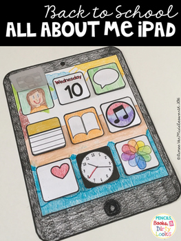 Back to School All about Me iPad