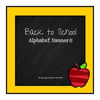 (Freebie) Back to School: Alphabet Mini Banner