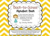 Back-to-School Alphabet Book