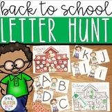 Back to School Alphabet Center Activity