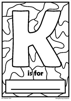 Back to School Color Your Own Alphabet Posters Activity Classroom Decor