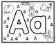 Back to School Alphabet Color Me Uppercase and Lowercase Letters