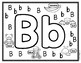 Alphabet Color Me Uppercase and Lowercase Letters