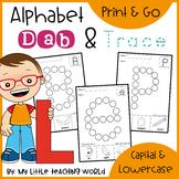 Back to School Alphabet Dab & Trace | Fine Motor Print & Go