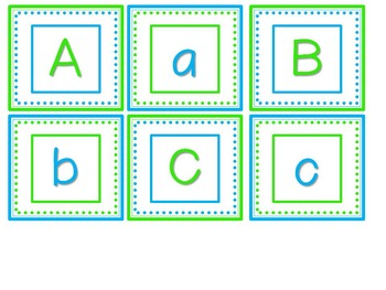 Back to School Alphabet Game