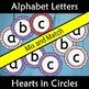 Back to School Alphabet Letter Display with Hearts