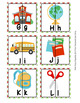 Back to School Alphabet Letter Match Puzzles