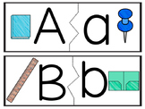 Back to School Alphabet Matching