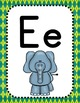Back to School - Alphabet & Number Posters - Argyle Theme