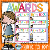 End of the Year Awards with Alliteration - End of Year Awards