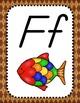 Back to School - Alphabet & Numbers Posters - D'Nealian - Argyle Theme