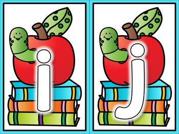 Back to School Alphabet Playdough Mats