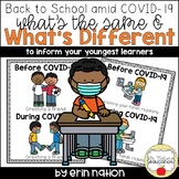 Back to School Amid COVID-19 - Same and Different