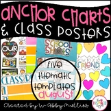 Back to School Anchor Charts and Class Posters