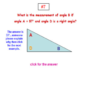 Back to School Angles Triangles & Polygons POWERPOINT Lesson