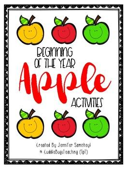 Back to School Apple Activities