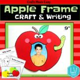 Back to School Apple Frame