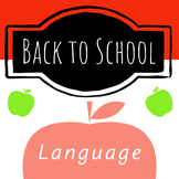 Back to School - Apple Read and Draw Sentence Books!