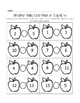 FALL and Apple Themed Math for Kindergarten or First Grade
