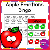 Back to School, Apples Emotion and Feelings Bingo