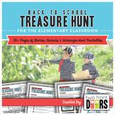 Back to School: Classroom Treasure Hunt