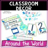 Back to School Classroom Decor Around the World Theme