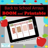 Back to School Arrays