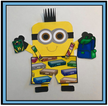 Back to School Art Activity for Primary Grades