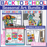 Back to School Art Bundle 2 | All About Me Activities and Decor