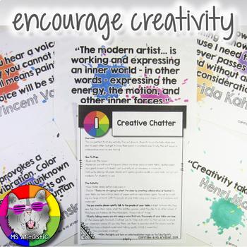 Back to School: Art Classroom Community Builders and Icebreakers