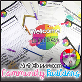 Back to School Art Classroom Community Builders and Icebreakers