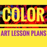 Back to School Art Lessons. Color