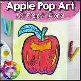Back to School Art Project, Apple Pop Art