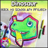 Back to School Art Project, Dinosaur