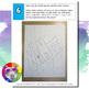 Back to School Art Project, Graffiti Name Color Wheel