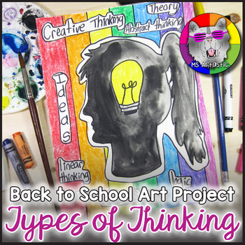 Back to School Art Project, Types of Thinking