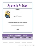 """Back to School Artic and Language Packet with """"Despicable"""
