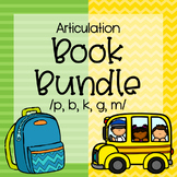 Back to School Articulation Book Bundle