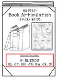 Back to School Articulation -Books! S-Blends Articulation