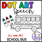 Back to School Articulation Dot Art: Gliding of Liquids (/L/ and /R/ Phonemes)