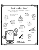 """Back to School Articulation: """"I Spy"""" with S-Blends"""