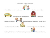 Back to School Articulation Story with Final /s/