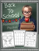{Back to School} Assessment Packet