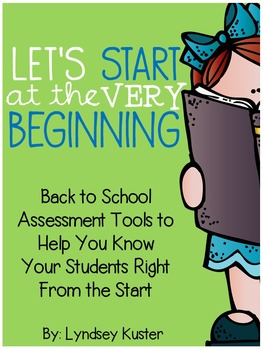 Beginning of the Year Assessments