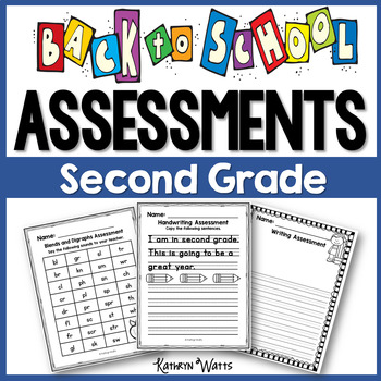Back to School Assessments (Second Grade)