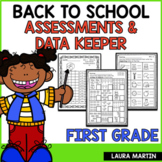 Back to School Assessments Data Binder | Distance Learning