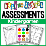 Back to School Assessments (Kindergarten)