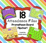 Back to School Attendance Promethean Board 18  Interactive Themed Pages