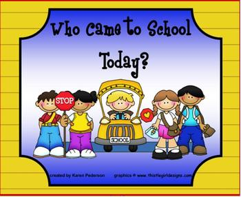 Back to School Attendance Student Check In